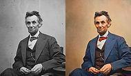 Sonradan Renklendirilmiş Popüler Siyah Beyaz Fotoğraflar