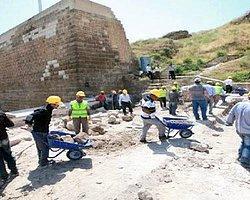 Urfa Kalesi'nde Kalıntılar Bulundu