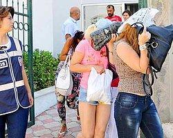 Antalya'da Fuhuş Şebekesine Baskın