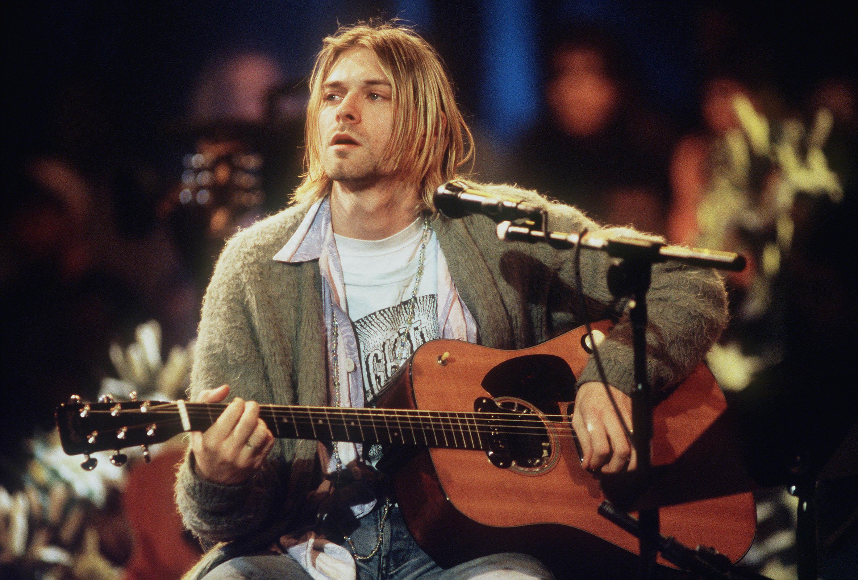 NIRVANA amp Kurt Cobain  Нирвана и Курт Кобейн