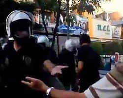 Polisten Biber Gazı İsteyen Vatandaş!