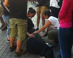 Taksim'de Sarı Basın Kartını Gösterdi Ama...