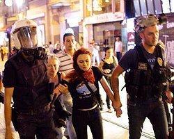 Polise Böyle Karşı Koydu 'Kızım O Benim Bırakmam!'