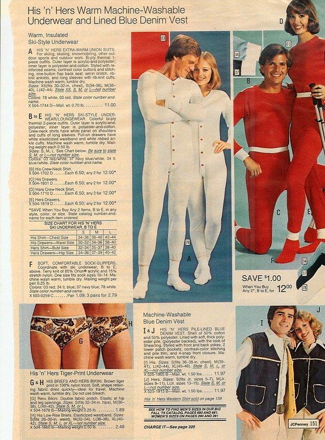 4. Öyle ki, çiftler aynı gecelikleri, aynı pijamaları giyiyor.