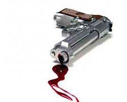 Barışmak İstemeyen Eşini Silahla Vurdu