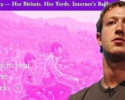 Zuckerberg'in Çılgın Projesi: Internet.Org