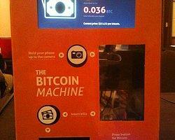Kanada'da Bitcoin Atm'si