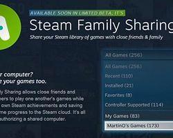 Valve'ın Steam Servisinde Aile İçi Paylaşım