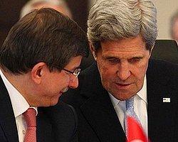 Kerry'den Davutoğlu'na Paris Daveti
