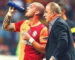 Fatih Terim'den Sneijder'e: ''Seni Görmek İstemiyorum''