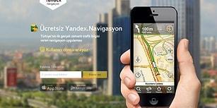 Yandex Navigasyon Türkiye'de Yayınlandı