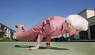 Yaşlı İnsanların Eğlenceli Fotoğrafları