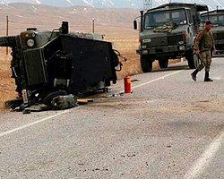 Asker Araç Kaza Yaptı: 11 Yaralı