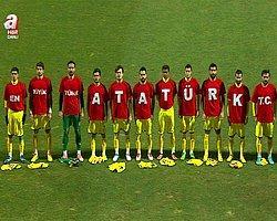 Bucaspor'dan Maç Öncesi 'Atatürk' Mesajı
