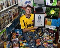 10 Bin Video Oyunu Biriktirip Büyük Rekor Kırdı