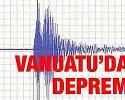 Vanuatu'da 6,6 büyüklüğünde deprem