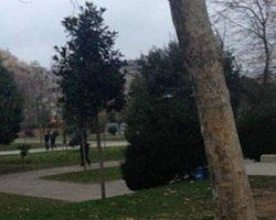 Ertuğrul Günay Gezi Parkı'na gitti