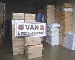 Van ve Hakkari'de Kaçakçılık Operasyonları