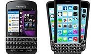 BlackBerry'den Klavyeli iPhone'a Dava