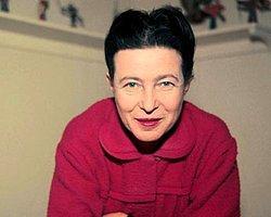 Simone De Beauvoir Doodle Oldu