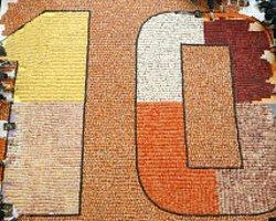 Dünyanın En Büyük Suşi Mozaiği