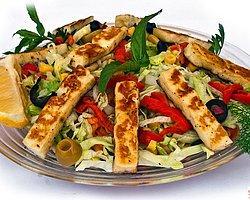 Soslu Hellim Peynirli Salata (6 Kişilik)