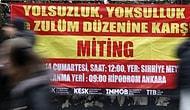 Ankara'da 'Bu Pisliği Halk Temizler' Mitingi