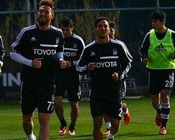 Beşiktaş İki Eksikle Çalıştı