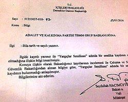 """""""AKP istedi, İçişleri Bakanlığı Pazar günü resmi belge hazırladı elden teslim etti"""""""