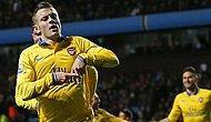 Arsenal 2 Dakikada İşi Bitirdi