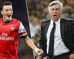 Ancelotti'den Mesut Özil İtirafı