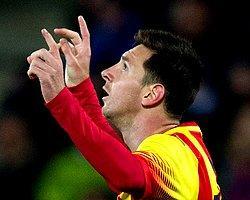 Lionel Messi'den Getafe'ye Muhteşem Gol!