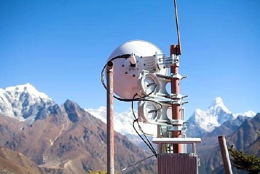 Dünya'nın En Yüksek Noktası Everest'te 3G Çeker!