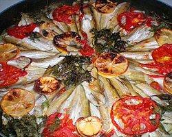 Domatesli Barbunya Balığı Tarifi