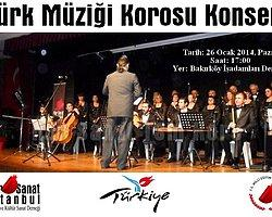 Bakırköy'de Türk Sanat Müziği Korosu Konseri