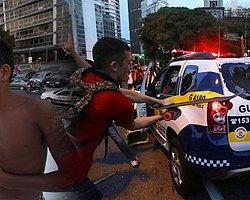 Brezilya'da Dünya Kupası'na karşı protestolar sürüyor...