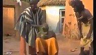 Afrika'da Baş Ağrısı Olan Kişiye Uygulanan Yöntem