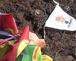 Diyarbakır'da Bayrak Gerginliği