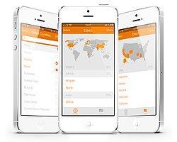 Daha Önce Gittiğiniz Ülkeleri Seçip Kişisel Haritanızı Görebileceğiniz İphone Uygulaması: Been