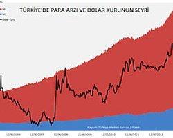 Türkiye'de Para Arzı Artarken Lira Değer Kaybetti