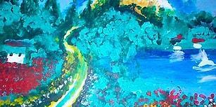 Görmez ressam Eşref Armağan: Benim kafamda görüntü olarak hiçbir renk yok…