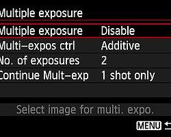 Multiple Exposure nedir?