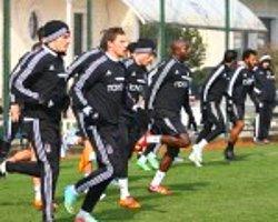 Beşiktaş'ta Bursaspor Maçı Hazırlıklarına Devam Edildi