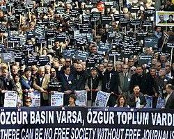 Gazeteciler Pazar Günü Sansüre Karşı Eylemde