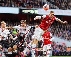 Liverpool'u Deviren Arsenal Çeyrek Finalde