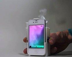 iPhone'dan Dumanla Haberleşme