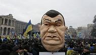 Yanukoviç'in Kiev'i Terk Ettiği İddia Ediliyor