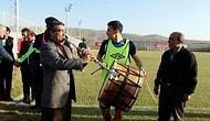 Elazığspor'da Davul Zurnalı Antrenman