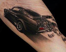 En İlginç Araba Dövmeleri
