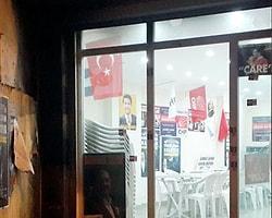 Esenyurt CHP'ye Molotof Kokteylli Saldırı
